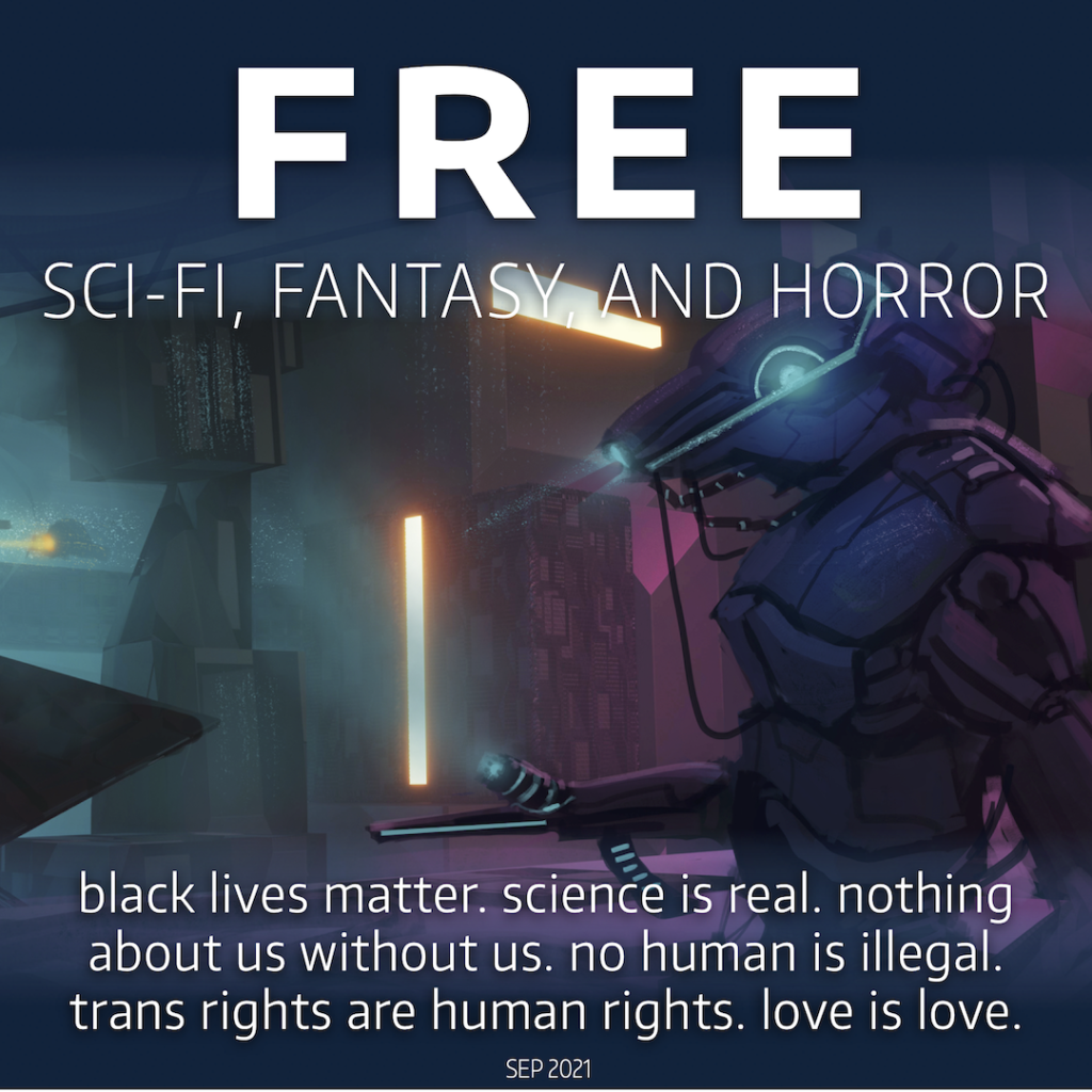 FREE diverse SFFH: pro-queer, disability-positive, multicultural, and neurodiverse books and stories